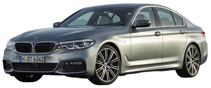 7th Gen BMW 5 Series Front Image