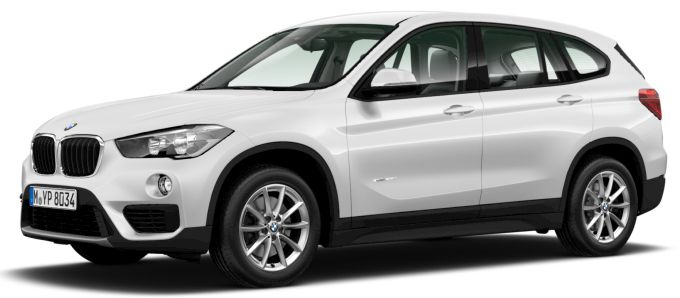 2nd Gen BMW X1 (facelift) Front Image