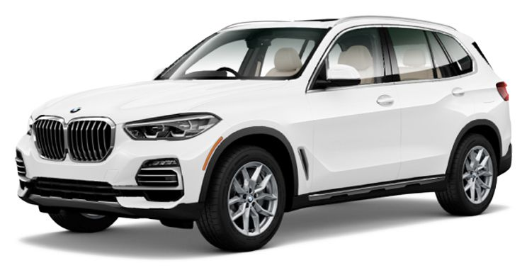 4th Gen BMW X5 Front Image