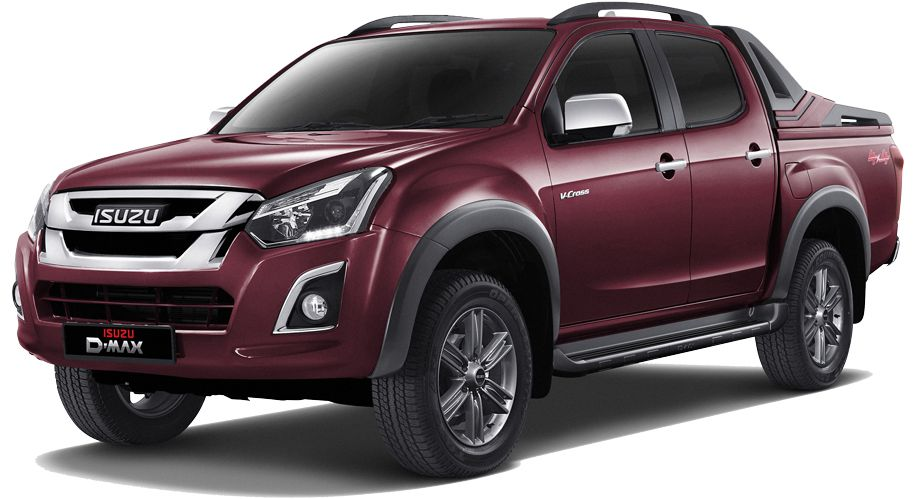 2nd Gen Isuzu D-Max V-Cross Automatic 3.0L Front Image