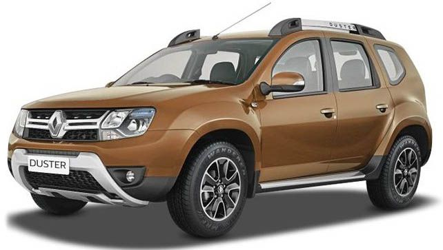 Renault Duster (2017 to Onwards) Front Image
