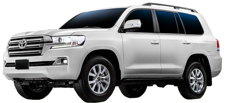 5th Gen Toyota Land Cruiser Front Image