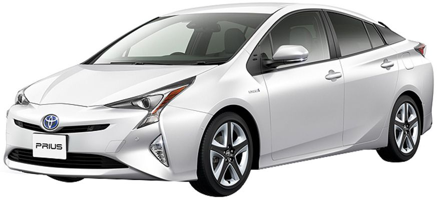 Toyota Prius (2017 to Onwards) Front Image